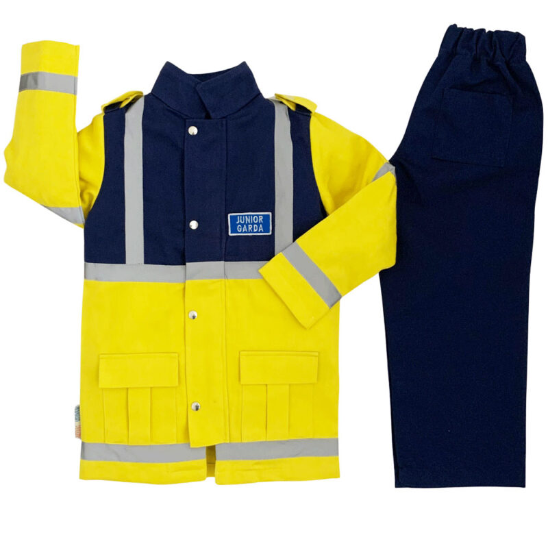A children's Garda Siochana dress up and role play costume in kids sizes 3-8 years