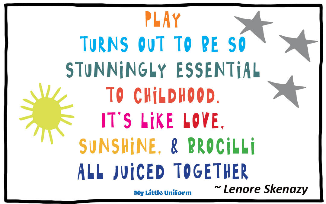 Five benefits of play