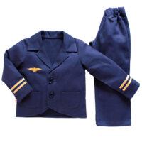 Childrens-Pilot-uniform overview